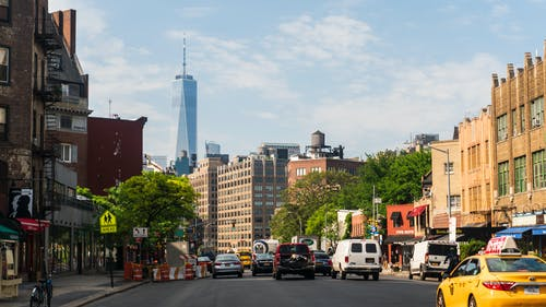 Photos gratuites de bâtiments, citadin, new york, one world trade center