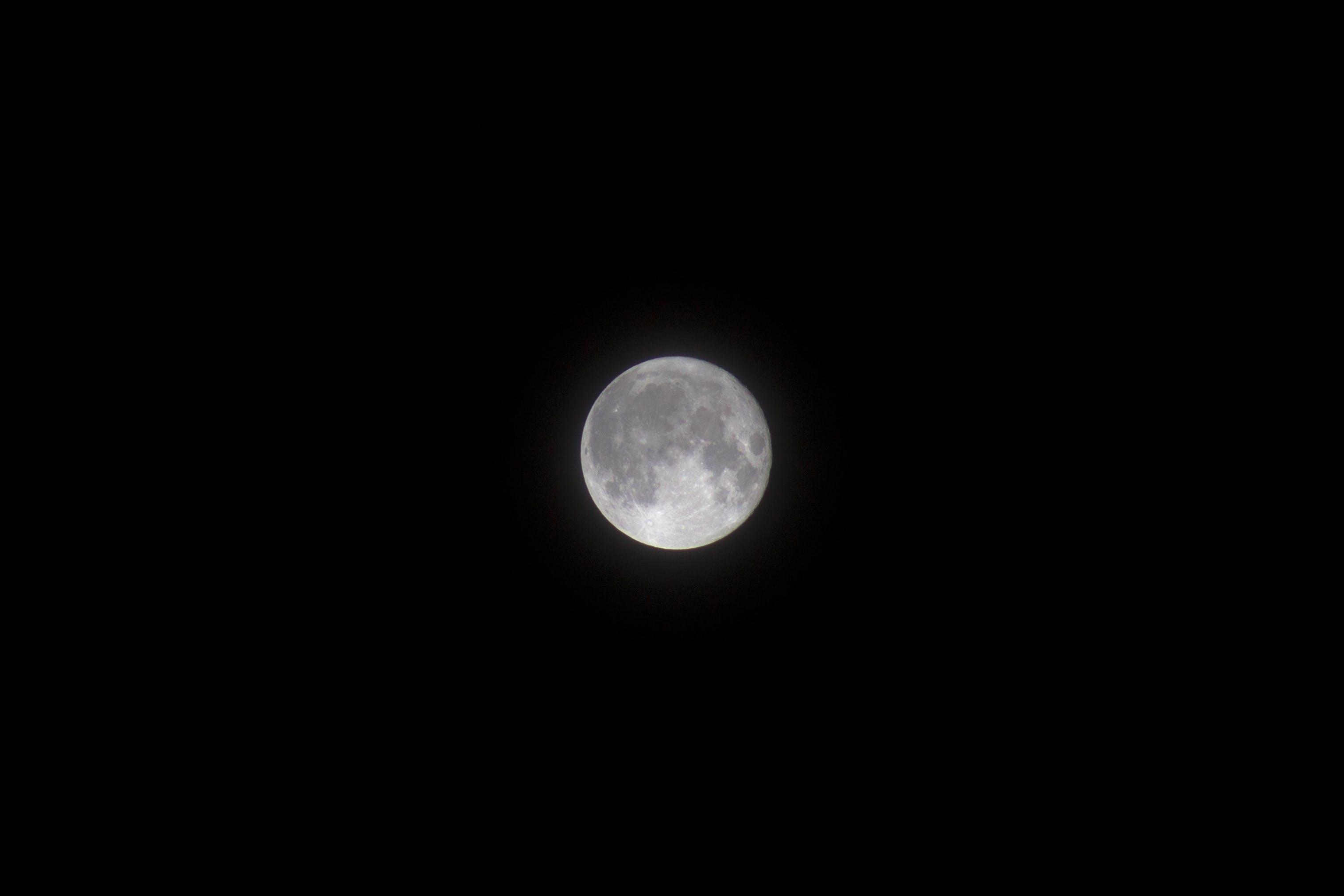 Gratis lagerfoto af astrologi, astronomi, fuldmåne, Halvmåne