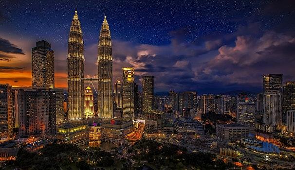 Free stock photo of light, city, lights, night