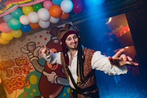 Free stock photo of festival, pirate