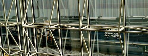 アトランタ, ガラスの窓, ノーフォーク南部, 列車の無料の写真素材