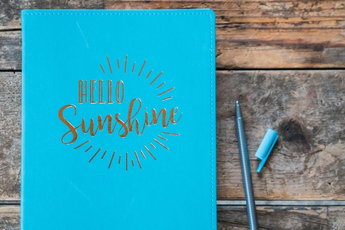 Close-Up Photo of Hello Sunshine Book