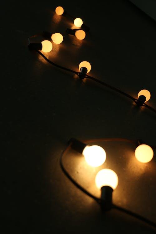 beleuchtet, dunkel, elektrizität