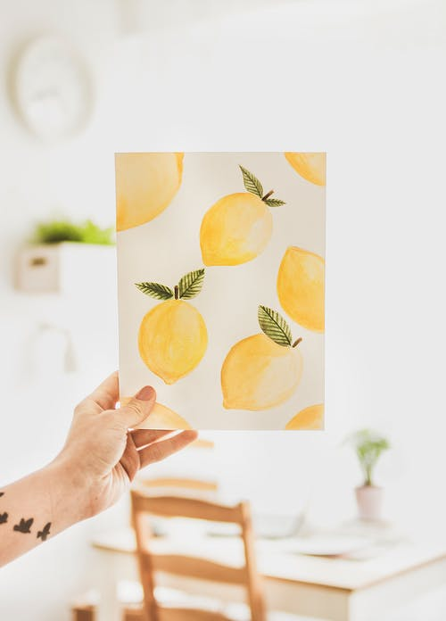 Lemon Printer Paper