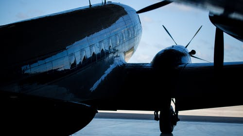 Close-up Photography of Air Liner