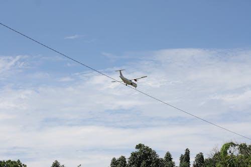 Gratis lagerfoto af blå, blå himmel, fly, flyvemaskine
