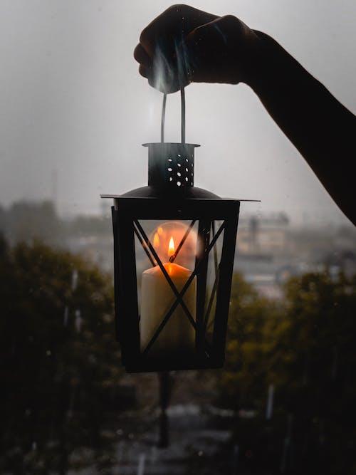 Δωρεάν στοκ φωτογραφιών με latern, βροχεροσ καιροσ, βροχή, διάθεση