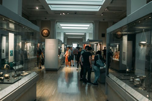 Free stock photo of museum, people