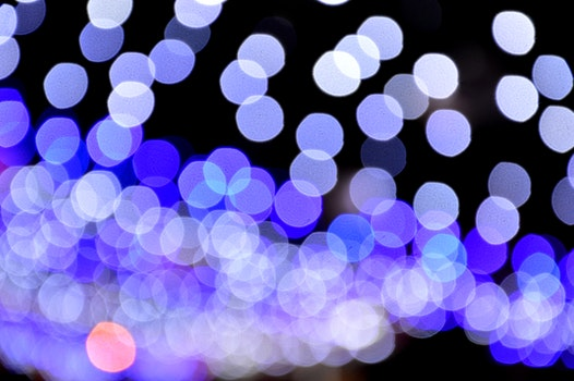 Free stock photo of light, lights, night, pattern
