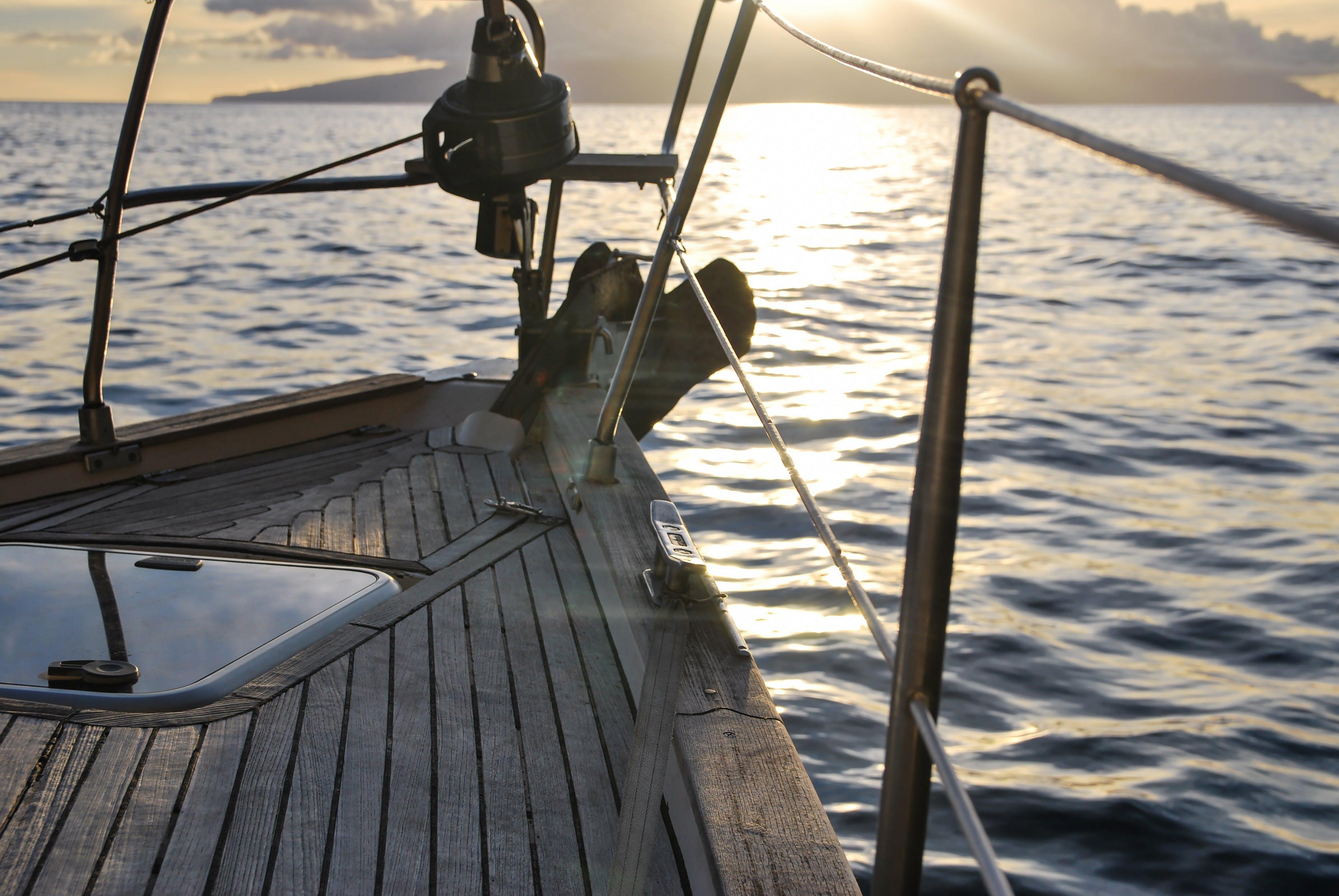 boat, deck, leisure
