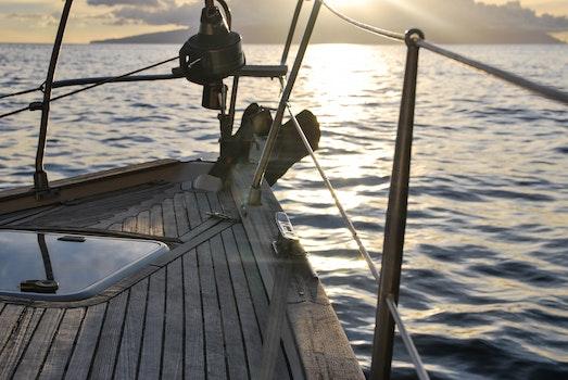 Free stock photo of sea, water, ocean, sun
