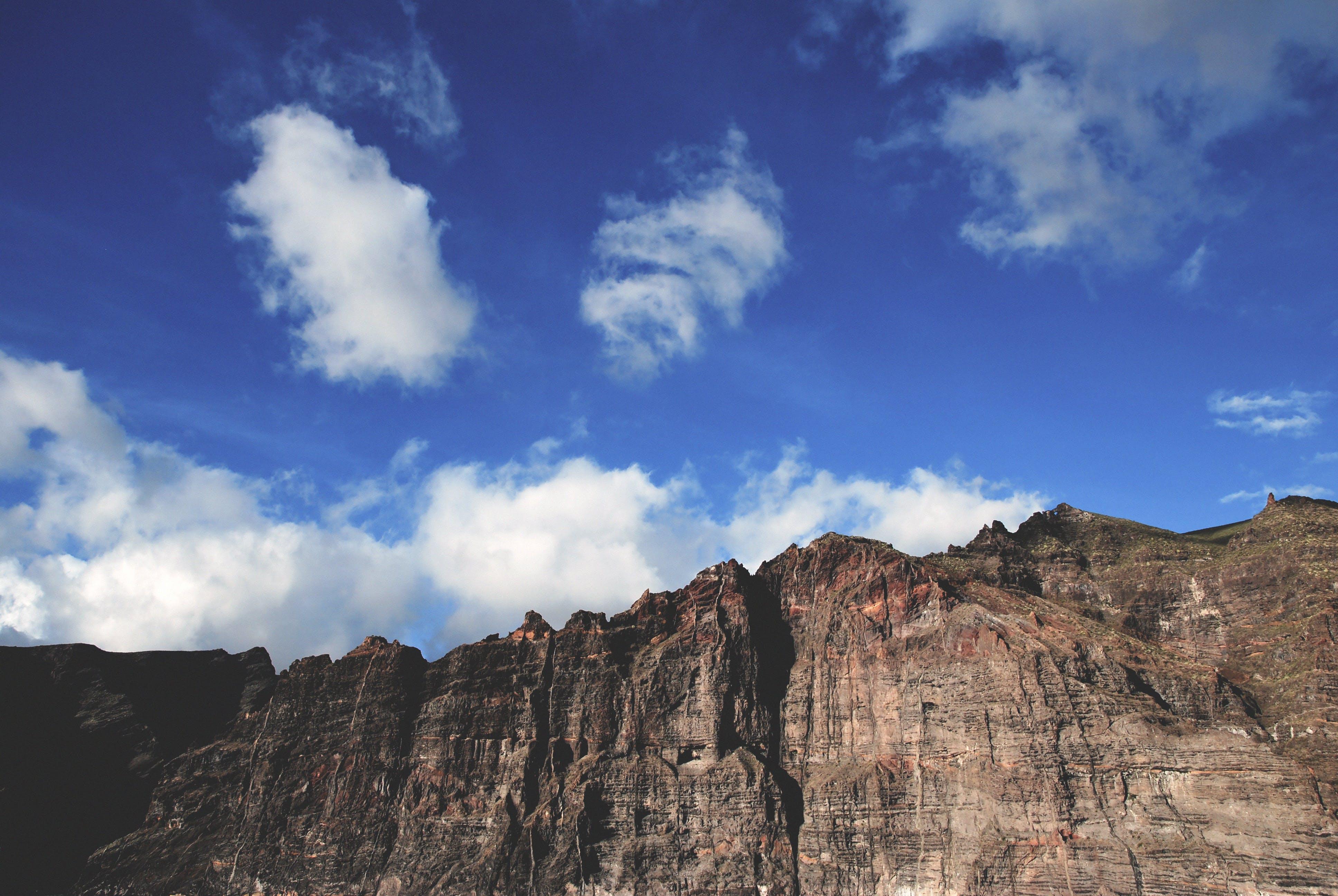 Foto stok gratis alam, awan, bentangan awan, bidikan sudut sempit