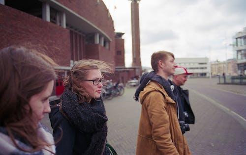 Imagine de stoc gratuită din Amsterdam, autolansatoare, eșarfă, fată