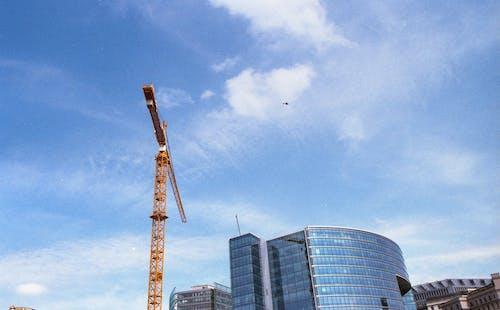 Imagine de stoc gratuită din cer, clădire de birouri, cocor, highrise