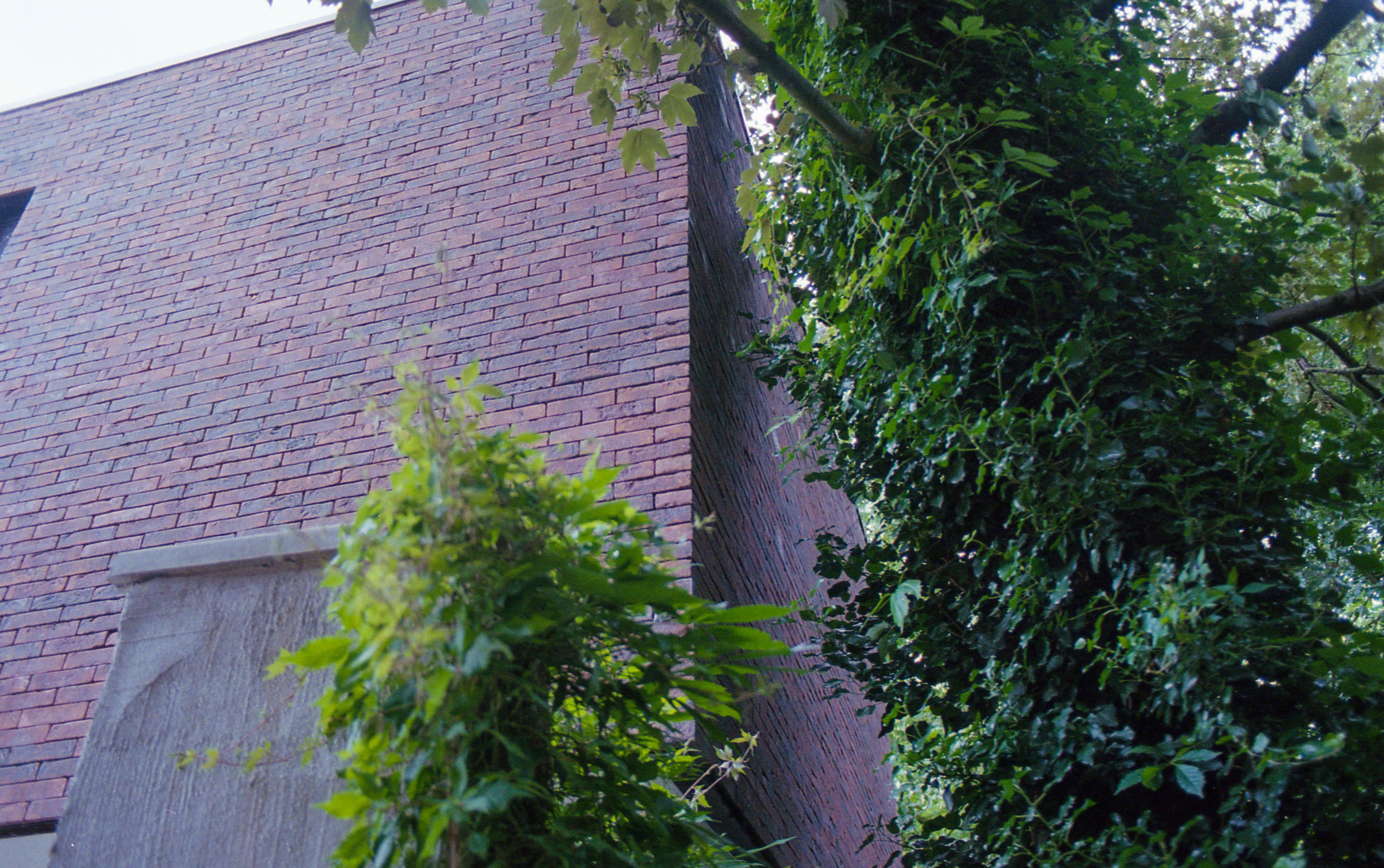 Free stock photo of bricks, building, nature, tree