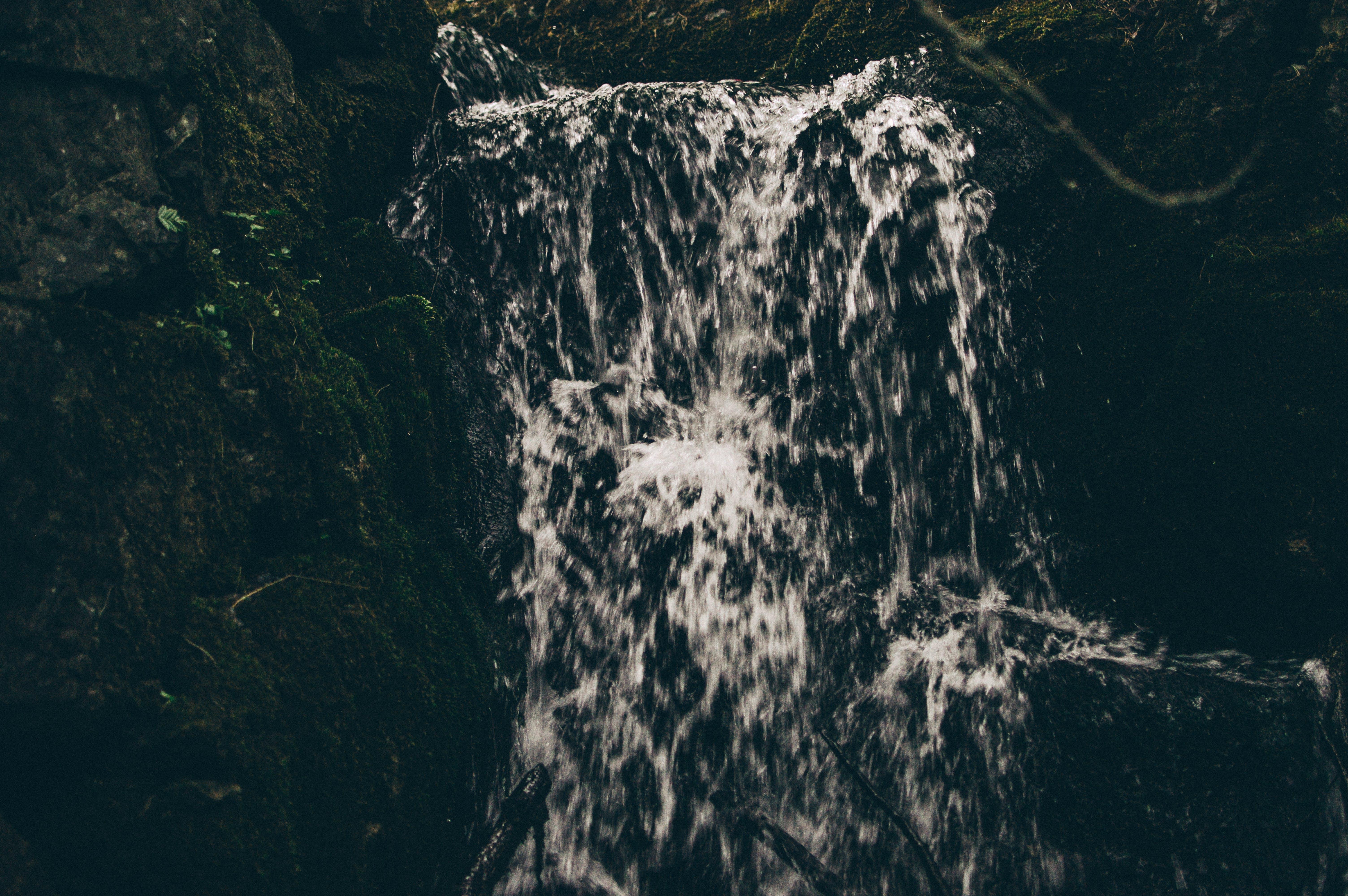 cold, creek, dark