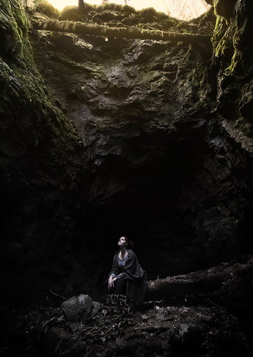 Free stock photo of cave, longing, mine