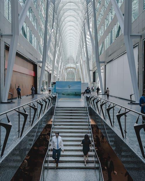 Photos gratuites de à l'intérieur, architecture, architecture moderne, bâtiment