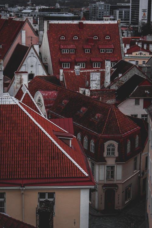 binalar, dış, evler, geniş açılı çekim içeren Ücretsiz stok fotoğraf