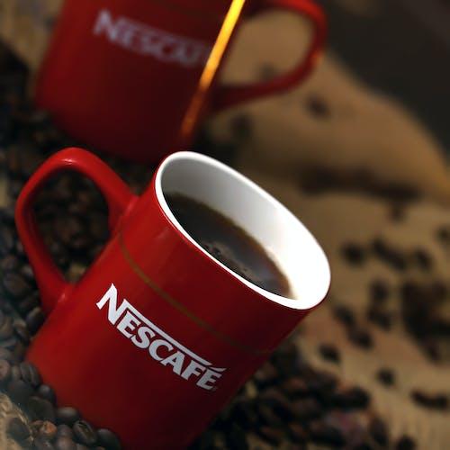 Ingyenes stockfotó csésze kávé, csípős, fekete kávé, felüdülés témában