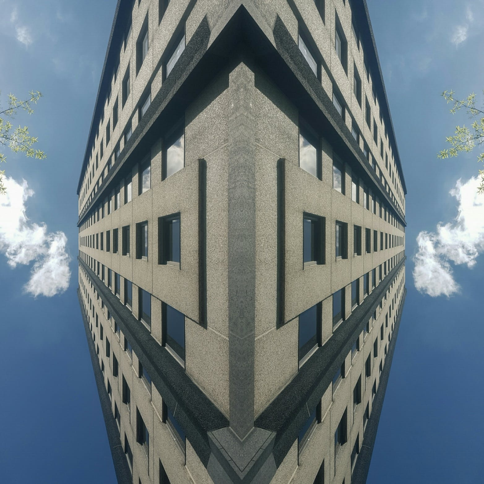 Free stock photo of sky, clouds, street, building