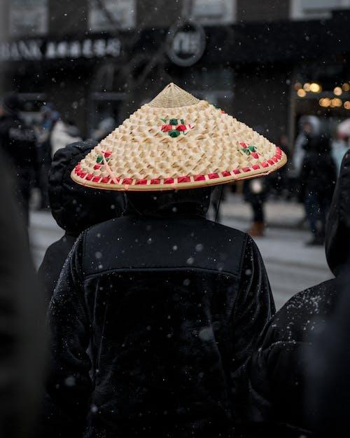 亞洲, 人群, 冬季, 喜怒無常 的 免費圖庫相片