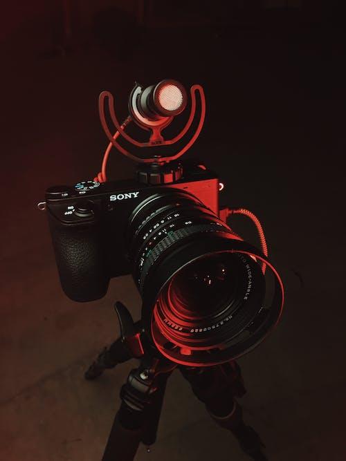 Foto stok gratis elektronik, kamera, kamera digital, peralatan