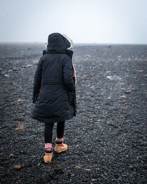 Free stock photo of adventure, cold, girl, moody
