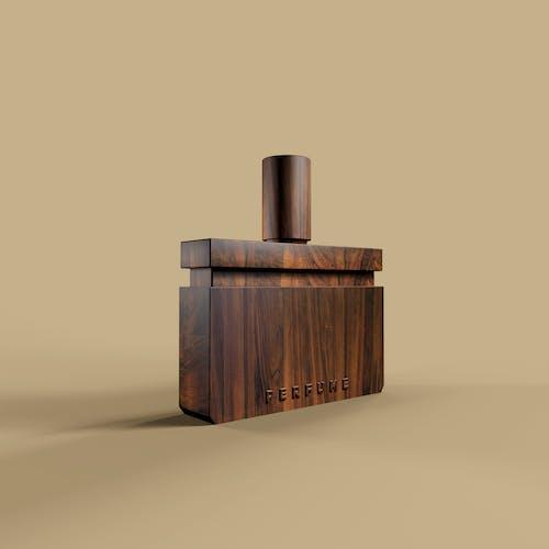 Free stock photo of bottle, perfume, wooden