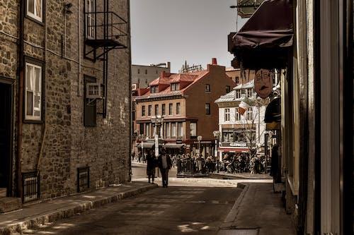 Ingyenes stockfotó forgalmas utca, régi utca, utcai fotózás, város témában
