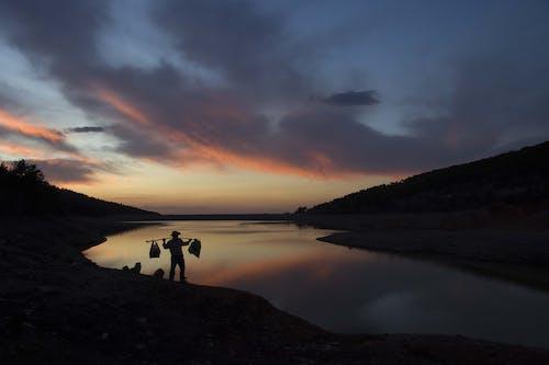 Photos gratuites de à contre-jour, aube, ciel, coucher de soleil