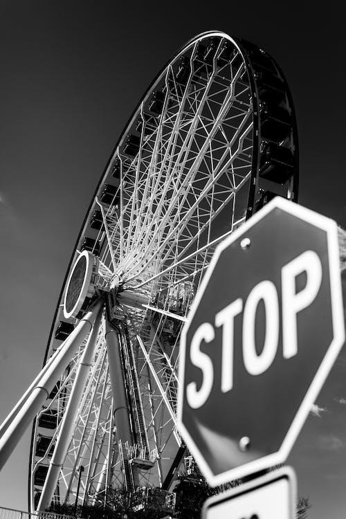 Ilmainen kuvapankkikuva tunnisteilla ajaa, huvipuistoalue, karnevaali, korkea