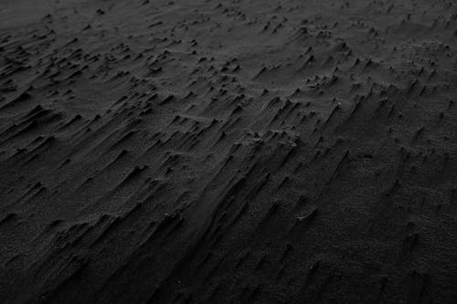 Black and White Photography of Sand