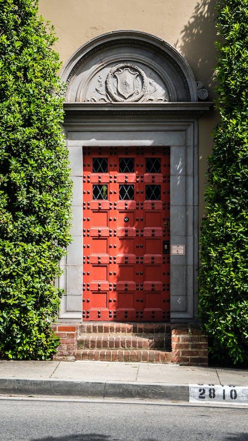 Darmowe zdjęcie z galerii z czerwony, drzwi
