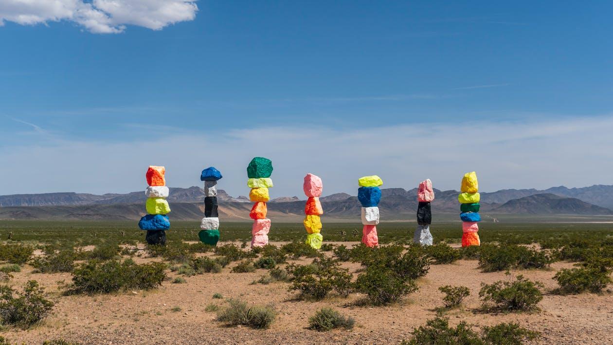 カラフル, 砂漠