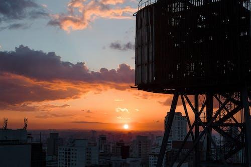 Ilmainen kuvapankkikuva tunnisteilla auringonlasku, kaupungin keskusta, sao paulo, sesc