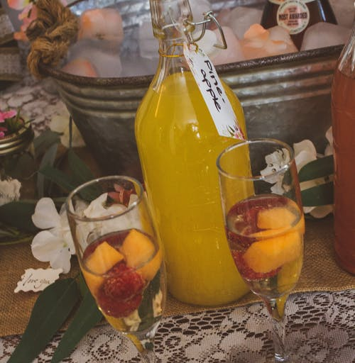 #brunch #juice #bubbly, #meyve içeren Ücretsiz stok fotoğraf