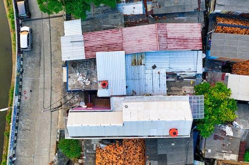 Gratis stockfoto met daken, drone, drone cam, drone fotografie