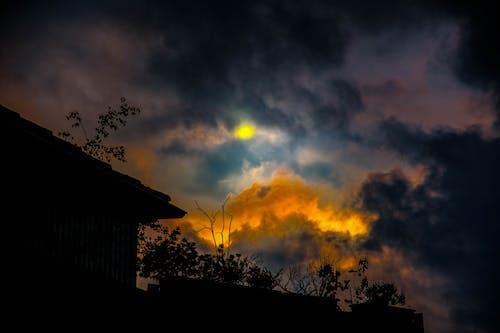 Free stock photo of cloud formation, cloud gate, cloudy skies, Dark Sky