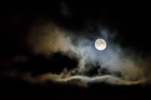 Бесплатное стоковое фото с Астрономия, вечер, жуткий, космос