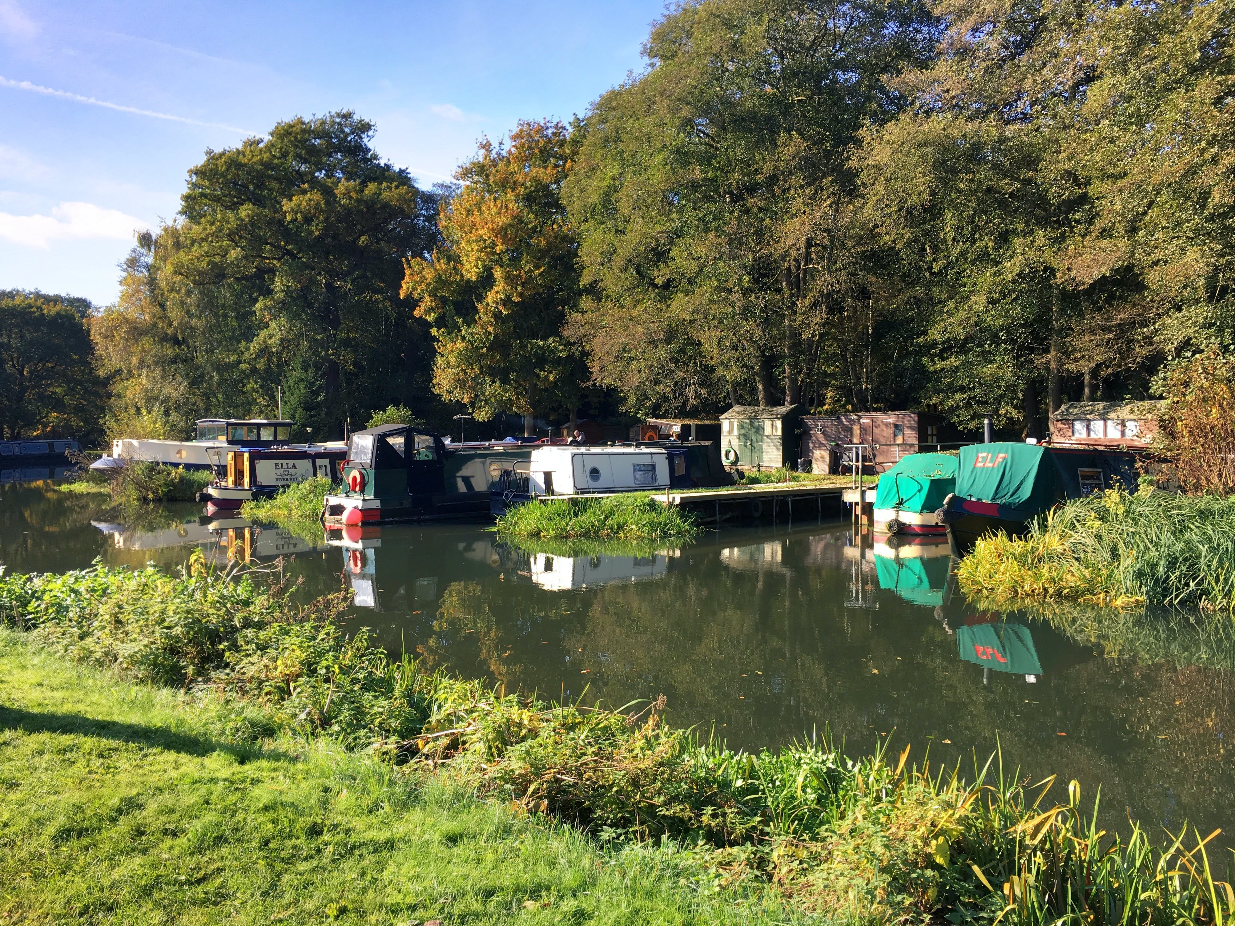 Free stock photo of canal barge