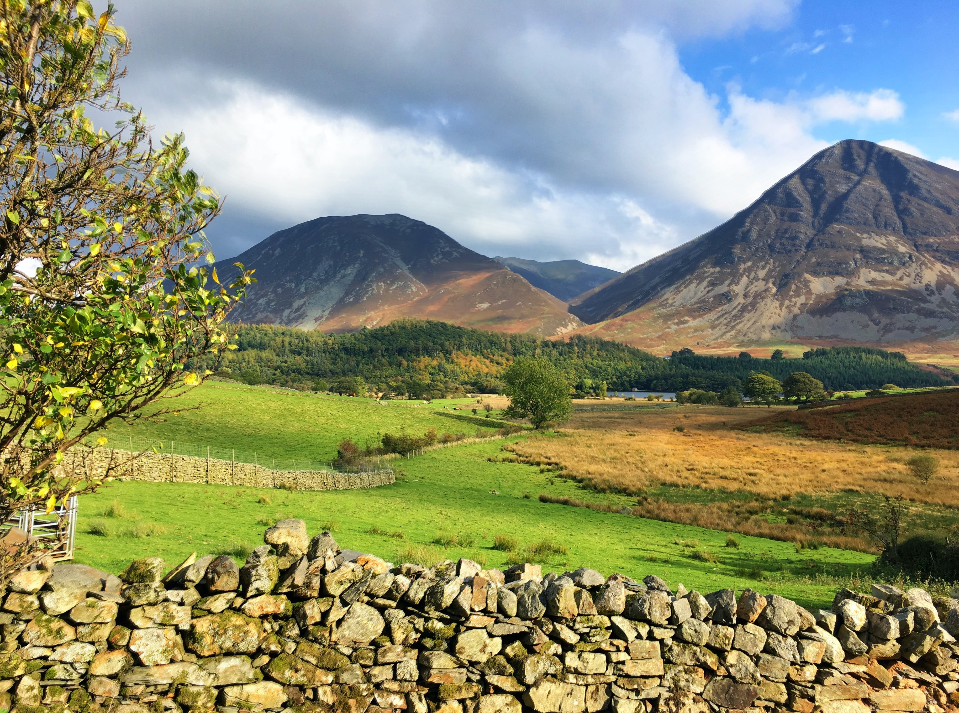 Free stock photo of Hills Lake District, Loweswater