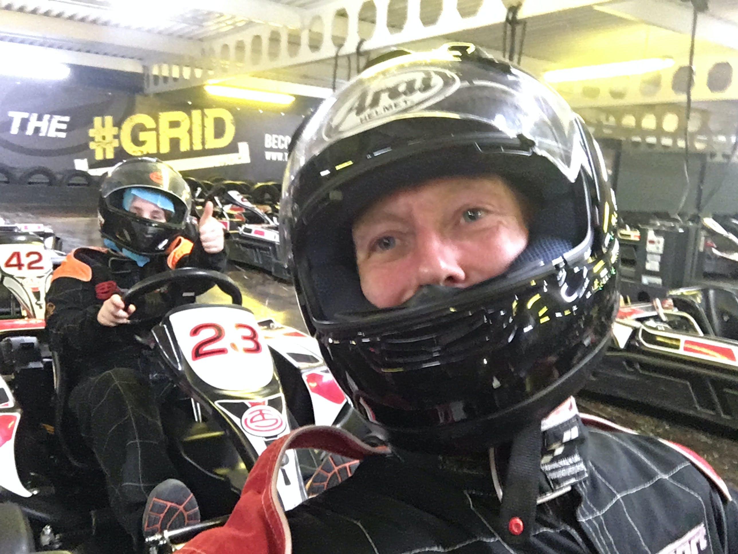 Free stock photo of Arai, go kart, Go Karting, helmet