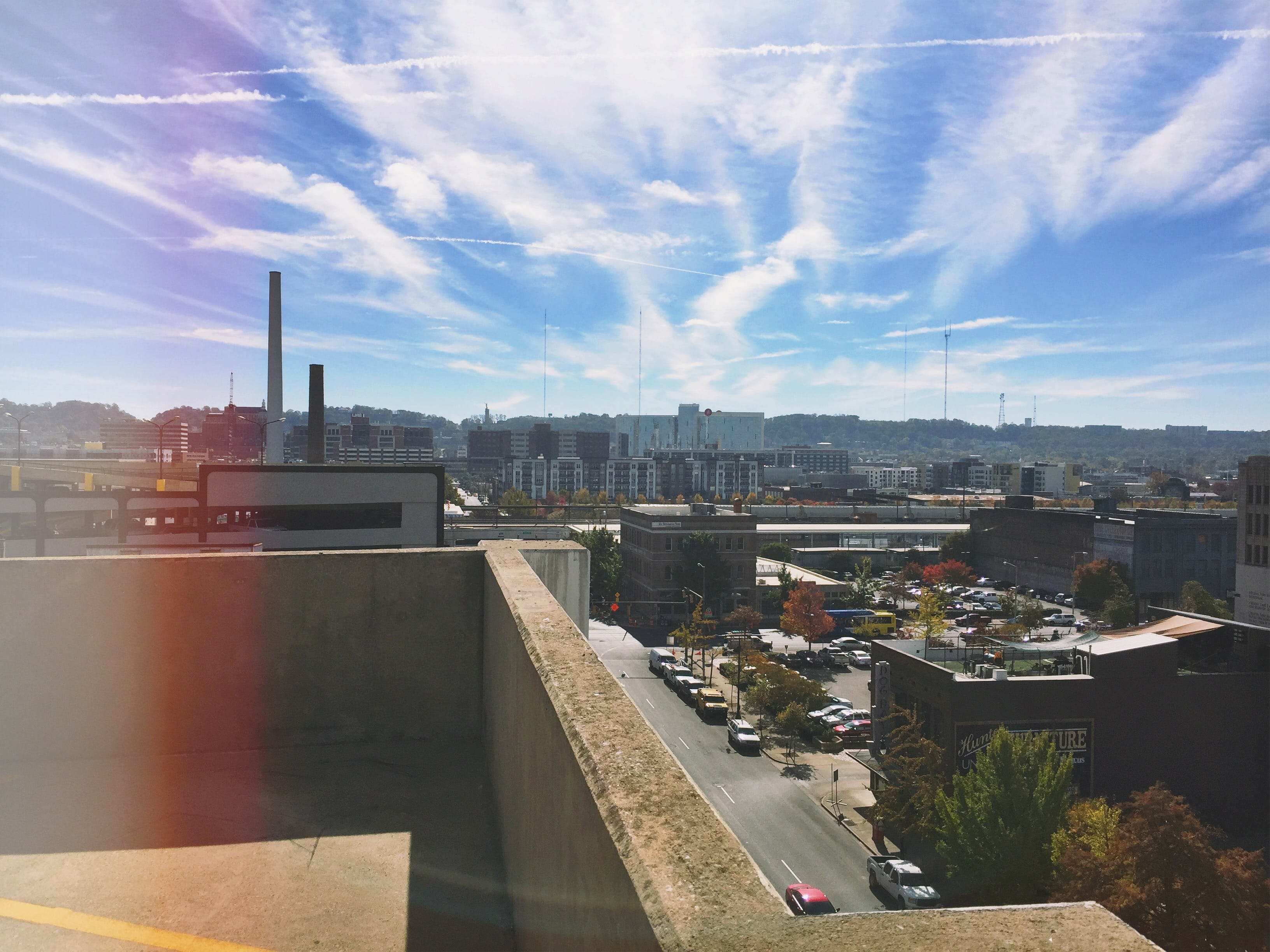 Free stock photo of city, clouds, mountain, sky