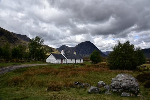 Free stock photo of Blackrock Cottage, Rannoch Moor, scotland