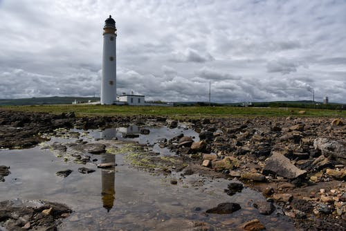 Free stock photo of barns ness, dunbar, lighthouse, scotland