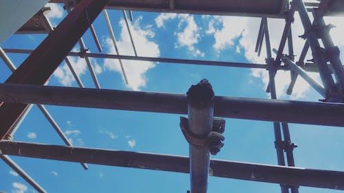 #파란 하늘의 무료 스톡 사진