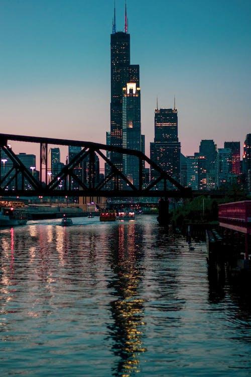 Gratis lagerfoto af aften, arkitektdesign, arkitektur, bro