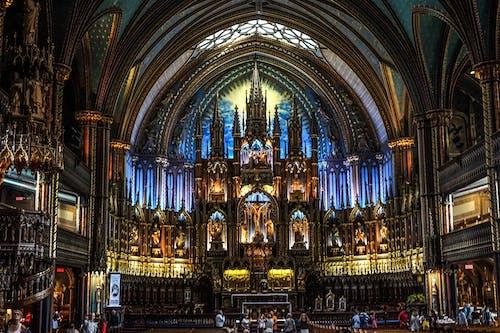 Free stock photo of architectural, basilica, canada, church