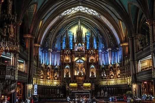 Free stock photo of montreal, church, canada, basilica